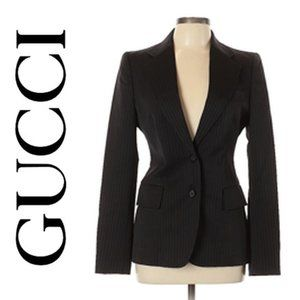 GUCCI Wool Blazer Size 44 (IT)